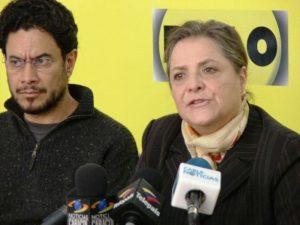 Clara López e Iván Cepeda