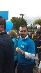 Andrés Villamizar, gerente de la campaña de Enrique Peñalosa a la alcaldía de Bogotá