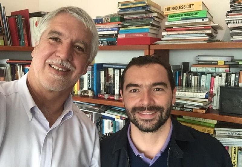 Andrés Villamizar es gerente de la campaña de Peñalosa, quien guarda silencio total frente al escándalo