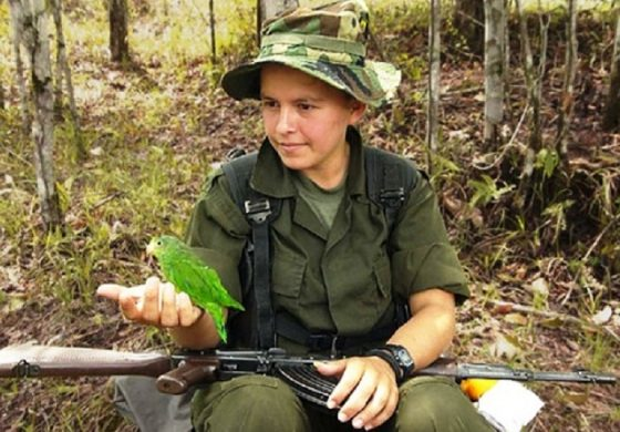 """COLOMBIA'S CHILDREN: HOSTAGES OF """"PEACE"""""""