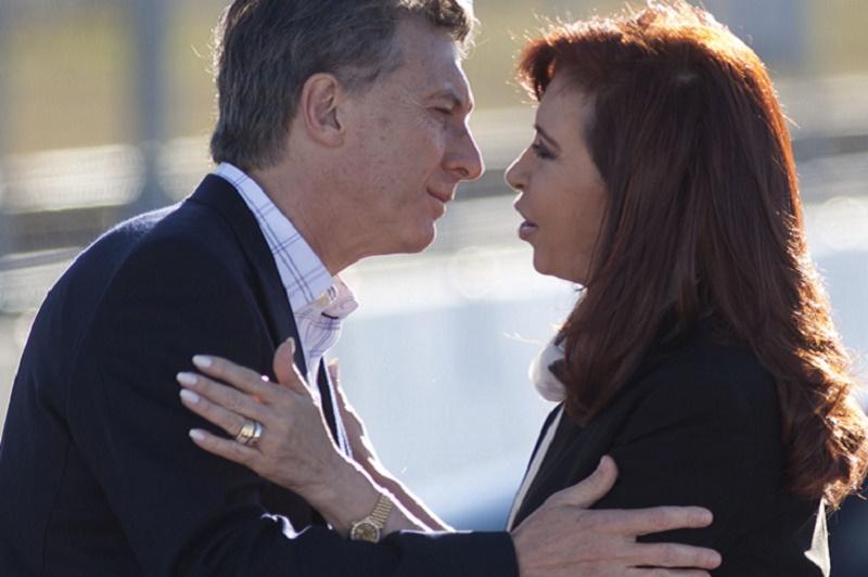 Mauricio Macri y Cristina. Ambos con las mismas ideas socialistas