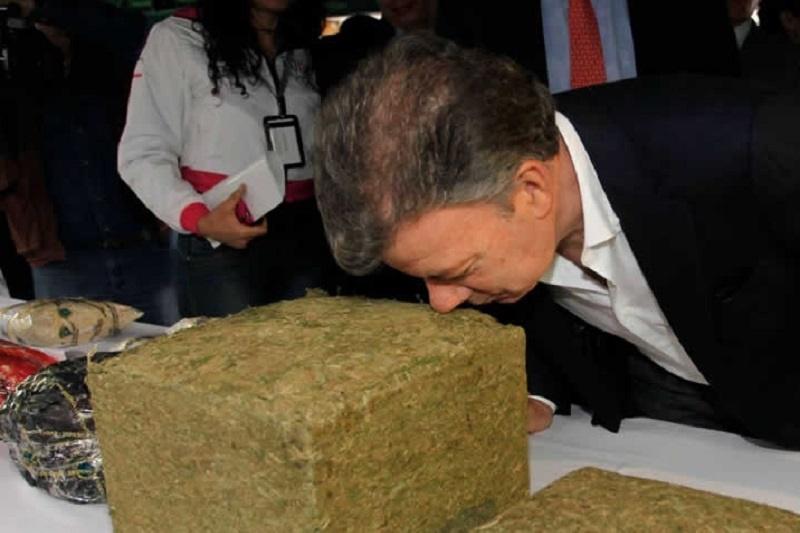 Santos y la marihuana