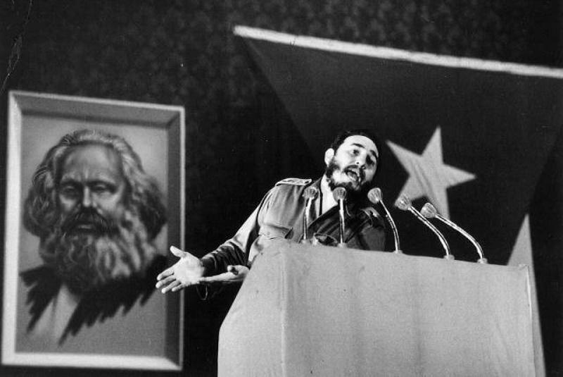 Fidel Castro y Marx