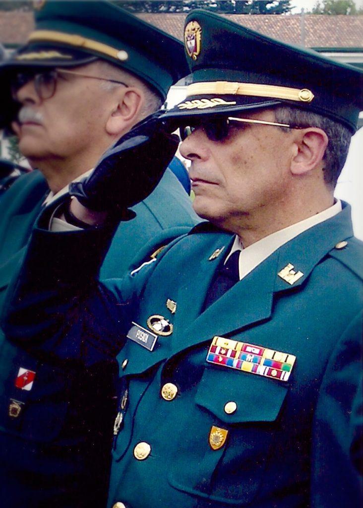 Miguel Posada Samper, oficial de la Reserva