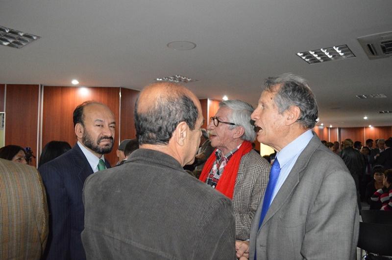 Alfredo Rangel, Carlos Valverde y Fernando Alameda
