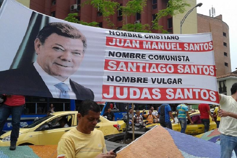 MONUMENTAL MARCHA CONTRA JUAN MANUEL SANTOS Y LOS NARCOTERRORISTAS. PARTE 11