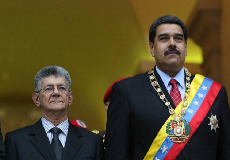Ramos Allup y Maduro. MUD y PSUV. Dos caras de la misma moneda