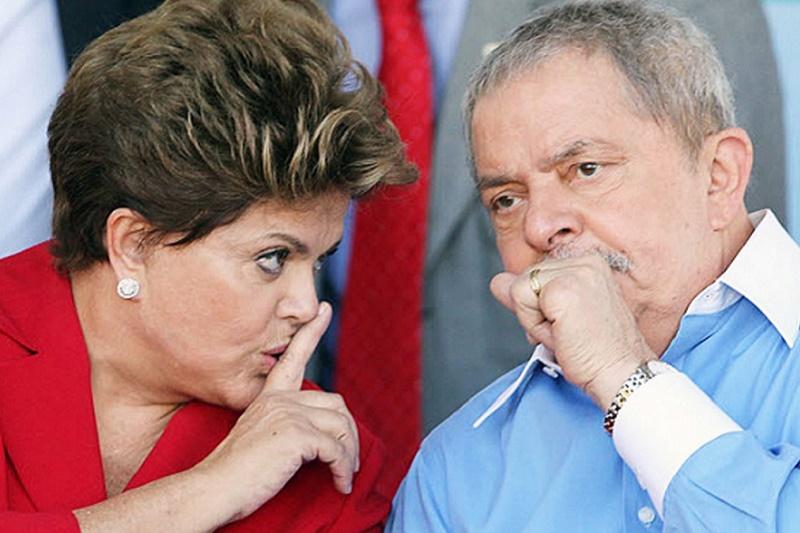 Dilma y Lula