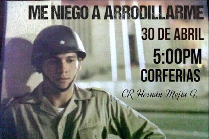 AL CORONEL HERNÁN MEJÍA GUTIÉRREZ