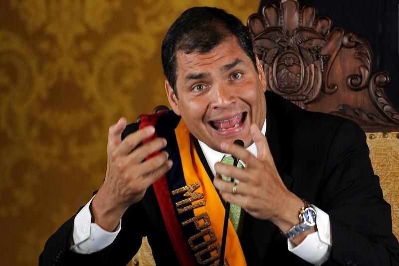 ECUADOR: MANCHENO, EL ZAR DE LA POLÍTICA, Y LOS PANAMÁ PAPERS QUE SALPICAN A RAFAEL CORREA