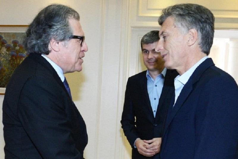 Macri y Almagro