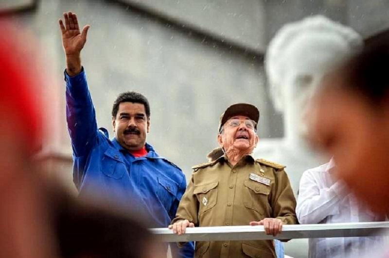 Castro y Maduro