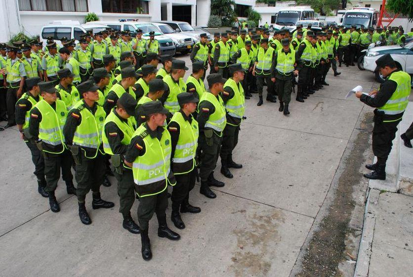 La Policía Nacional de Colombia