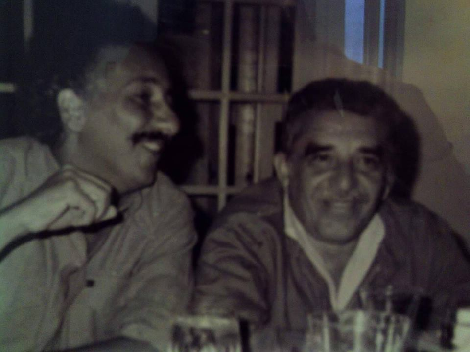 Gabriel García Márquez con Jaime Bateman Cayón, cabecilla del M19
