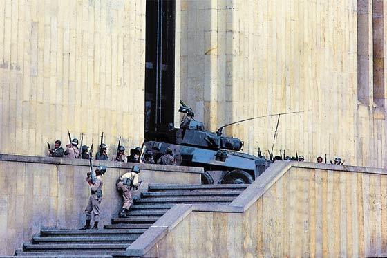 El dia del asalto al Palacio de Justicia por parte del M19