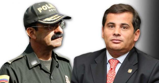 Rodolfo Palomino (dir Policía Nacional), y el congresista Carlos Ferro, miembros de una red de prostitución homosexual en ambas instituciones