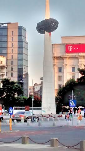 Monumento Víctimas del Comunismo. 1989