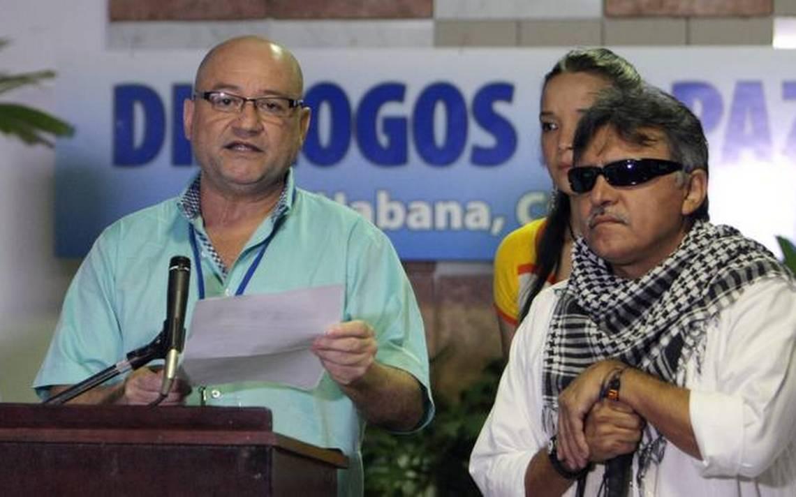 Carlos Lozada y Jesús Santrich