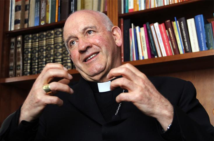 Monseñor Luis Augusto Castro guarda silencio ante la decisión del CE