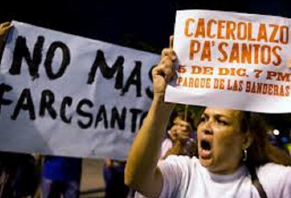 Todo lo que está sucediendo en Colombia en la era de huanpa con el Acuerdo de paz de La Habana no es casualidad