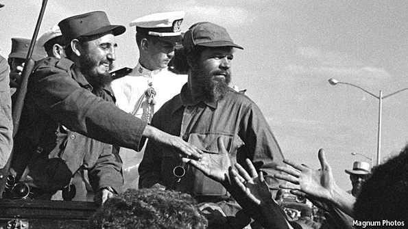 Fidel Castro y Huber Matos