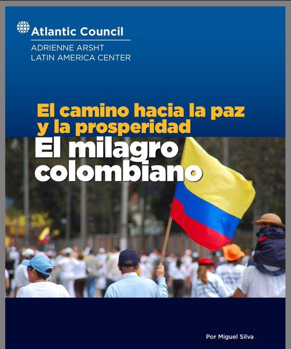 """""""El milagro colombiano"""", 'informe' de Miguel Silva"""