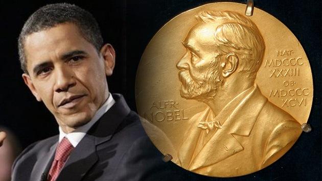 Obama, Nobel de Paz