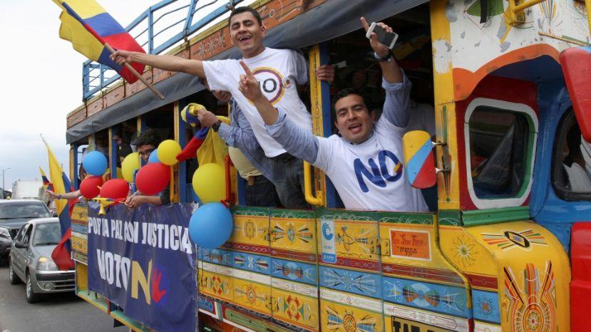 Los entusiastas del NO ganaron. Sin dinero, sin maquinaria