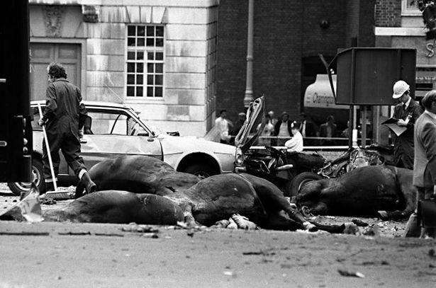 Hyde park bomb in 1982