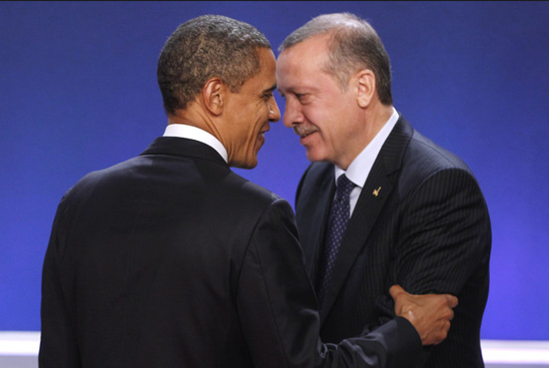 Tayyip Erdogan y Obama