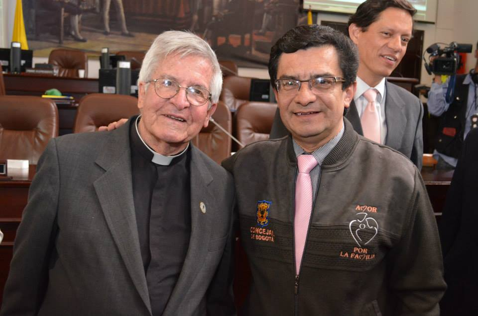 """Marco Fidel Ramírez, el """"Concejal de la Familia"""""""