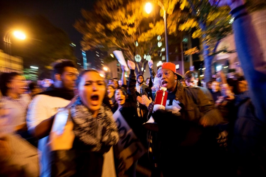Oregon is epicenter as Trump protests surge across nation