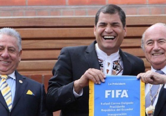 ECUADOR CASO FIFA: DEL ACTA PERDIDA A LOS CHEQUES REPETIDOS.