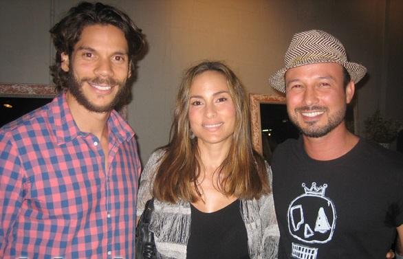 Yohir Akerman, a la izquierda (Foto Jet Set)