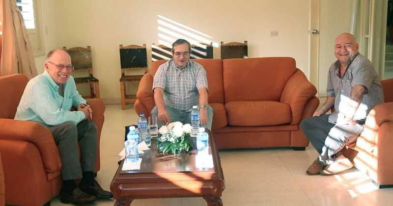 Enrique Santos, Timockenko y Carlos Antonio Lozada