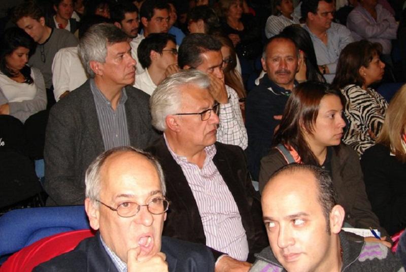Everth Bustamante, Ernesto Yamhure y José Obdulio Gaviria