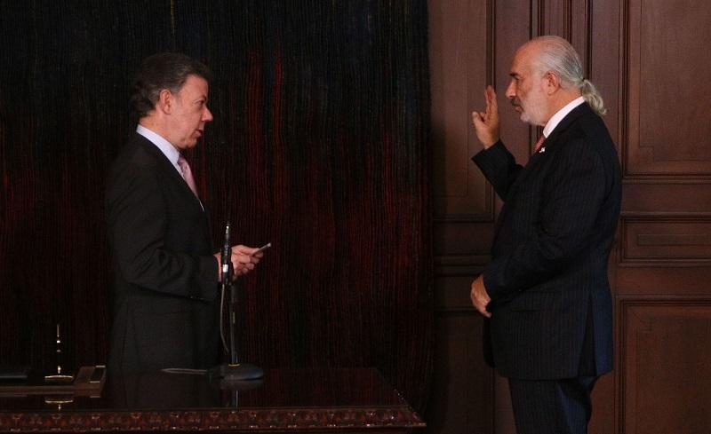 Alberto Furmanski, nombrado por Santos como embajador en España