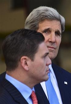 Juan Carlos Pinzón y John Kerry