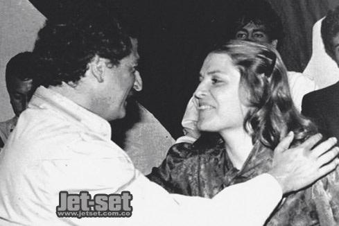 """Al igual que otros marxistas de la clase dirigente, """"Simón Trinidad"""" militó con Luis Carlos Galán (acá con Clara López. Foto Jet Set)"""