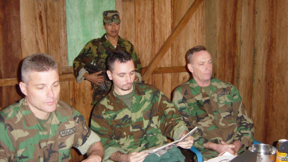 Americans kidnapped by the FARC
