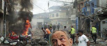 APRÈS DES DÉCENNIES D'AIDE SECRÈTE AUX TERRORISTES, SOROS SE DÉVOILE EN COLOMBIE