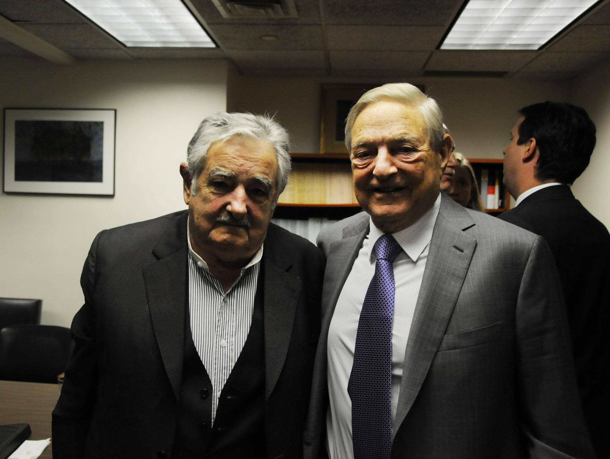 Pepe Mujica sirivió a los propósitos de George Soros