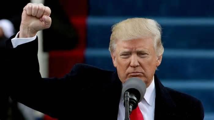 Trump encomendó la nación a Dios