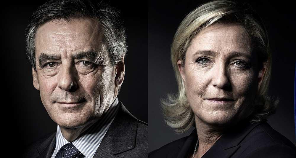 Fillon - Le Pen