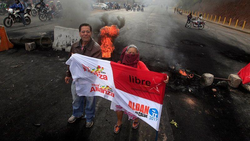 HONDURAS, UNA LARGA AGONÍA TRAS LAS ELECCIONES