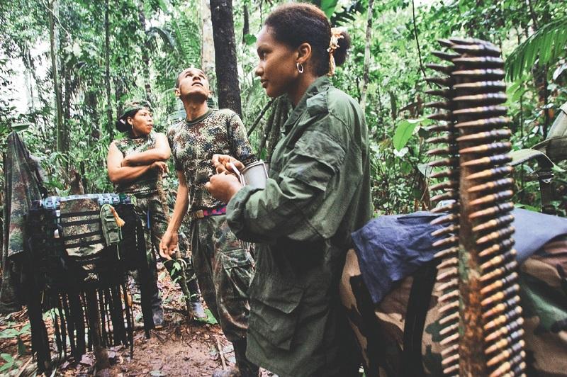 COLOMBIE: CHAOS DANS LE REGROUPEMENT DES FARC