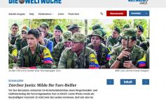 JUSTICIA DE ZÚRICH, BLANDENGUE PARA LAS FARC